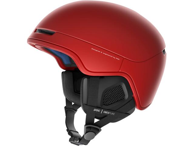 POC Obex Pure Helmet prismane red
